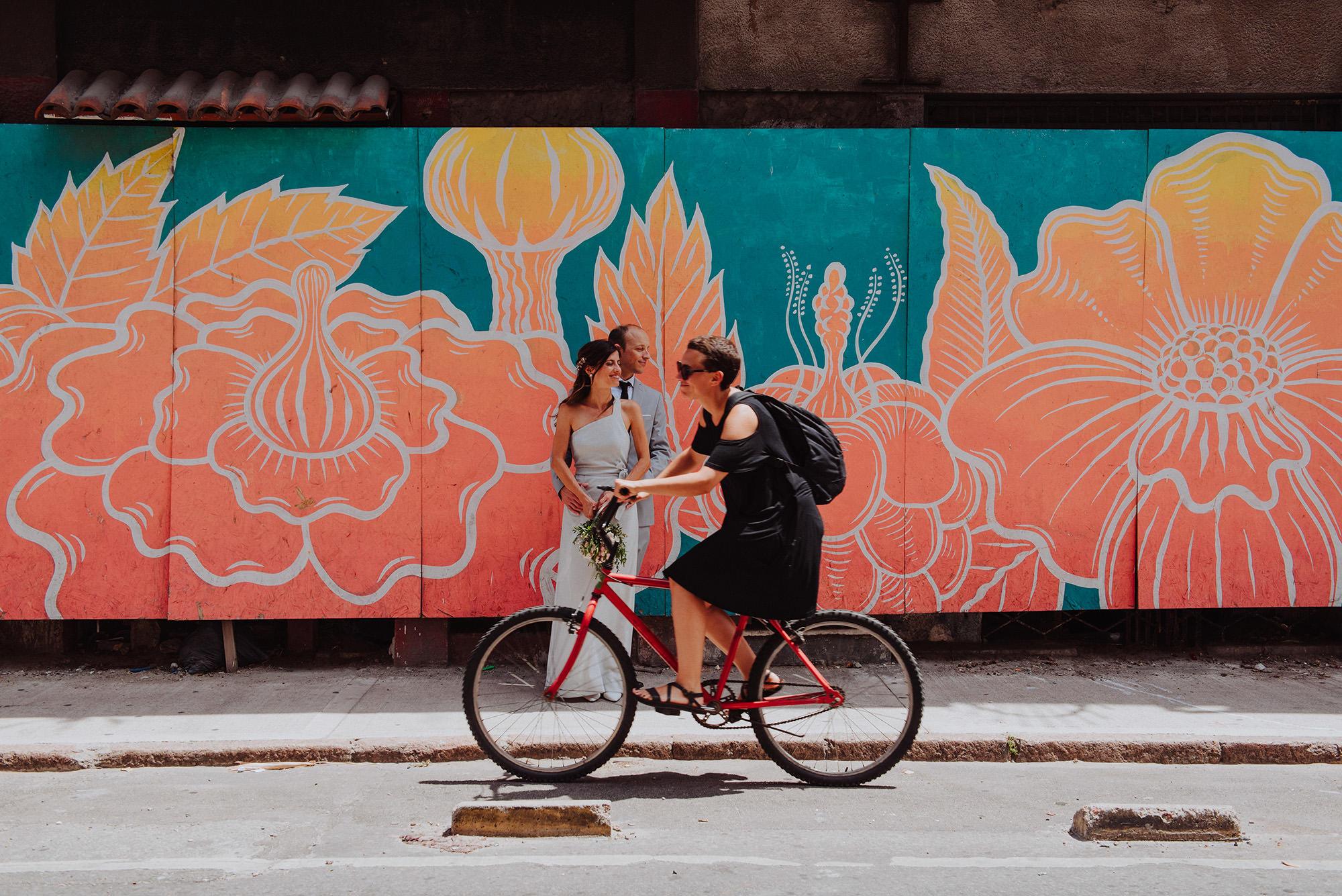 fotografia urbana de bodas
